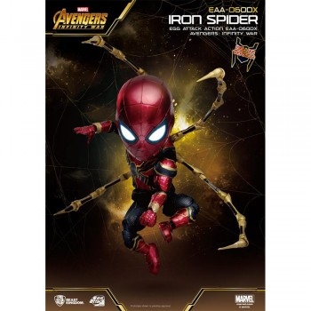 Marvel Avengers: Infinity War - Egg Attack Action - Iron Spider Deluxe (EAA-060DX)