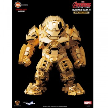 Kids Nations Marvel Avengers Age of Ultron: Iron Man Hulkbuster Mark 44 - 24K Gold Plated Egg Attack Statue Figure