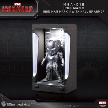 Marvel Mini Egg Attack Series: Iron Man Mark II with Hall of Armor (MEA-015M2)