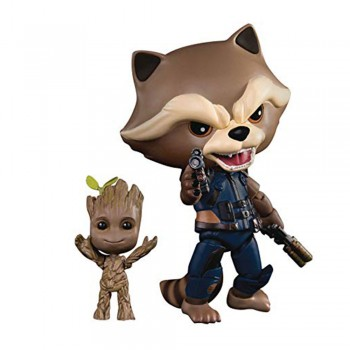 Marvel Of The Galaxy: Egg Attack Action - Rocket with Kid Groot (EAA-049)