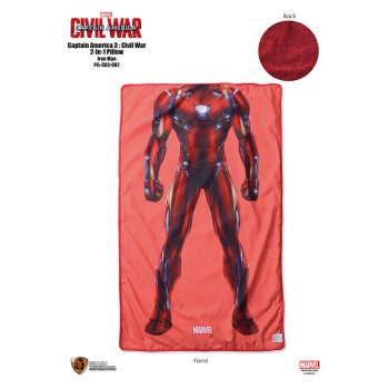 Marvel Captain America 3: 2-In-1 Pillow Series - Iron Man (PIL-CA3-002)