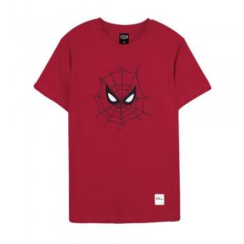 Spider-Man Series Spider Eyes Tee (Red, Size L)