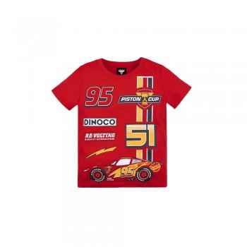 Cars 3: Kids Tee 08 (Red, Size 130) - Racing Lightning McQueen