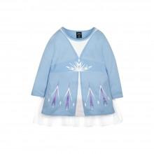 Frozen 2 Series Elsa Cloak Kids Tee - (Blue, Size 130)