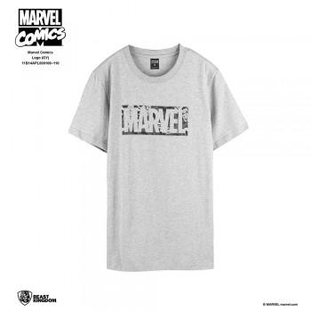 Marvel Comics: Logo Tee Series 10 - Gray, Size S