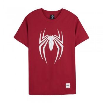 Spider-Man Series Spider Tee (Red, Size L)