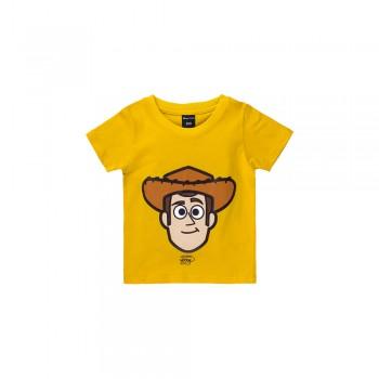 Woody Pixar Series Children Tee (Yellow, Size 100)