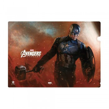 Avengers: Infinity Series L Folder Captain America with Mijolnir