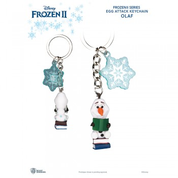Frozen 2 Egg Attack Keychain Series Olaf
