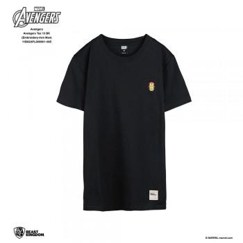 Avengers: Avengers Tee Embroidery Series Iron Man - Black, S