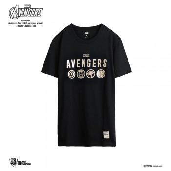 Avengers: Avengers Tee Group - Black, S
