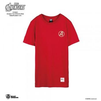 Avengers: Avengers Tee Iron Man - Red, S