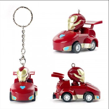 Avengers: Infinity War Pull back car keychain series Iron Man