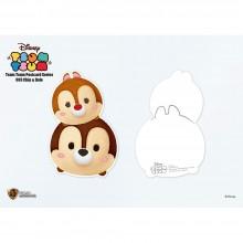 Disney: Tsum Tsum Postcard Series Chip & Dale (STA-Tsum-003)