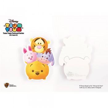 Disney: Tsum Tsum Postcard Pooh Group (STA-Tsum-012)
