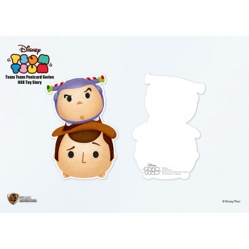 Disney: Tsum Tsum Postcard Series Toy Story (STA-Tsum-008)