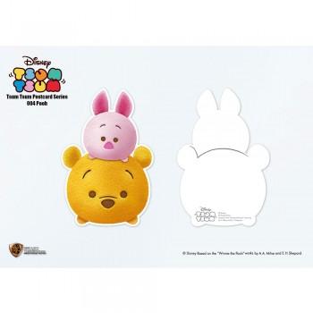 Disney: Tsum Tsum Postcard Series Winnie The Pooh (STA-Tsum-004)