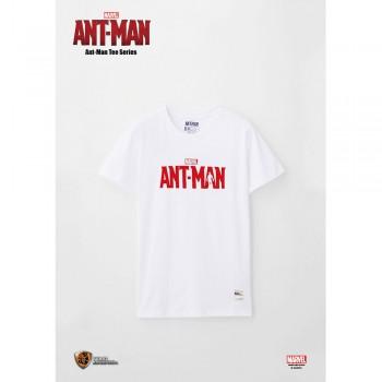 Marvel: Ant-Man Tee Series Logo - White, Size M (ANM02WH-M)