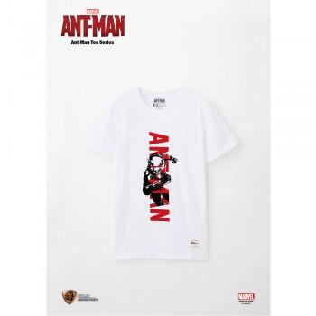 Marvel: Ant-Man Tee Series Logo - White, Size S (ANM04WH-S)