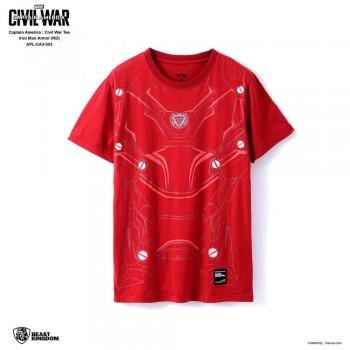 Marvel Captain America: Civil War Tee Iron Man Armor - Red, Size XS (APL-CA3-003)