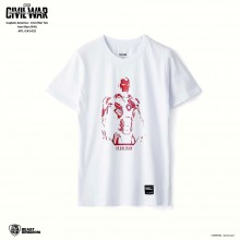 Marvel Captain America: Civil War Tee Iron Man - White, Size XS (APL-CA3-032)