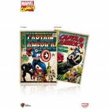 Marvel Comic: L-Folder - Captain America (MC-LF-CA)