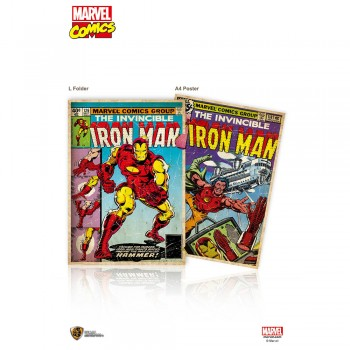 Marvel Comic: L-Folder - Iron Man (MC-LF-IM)