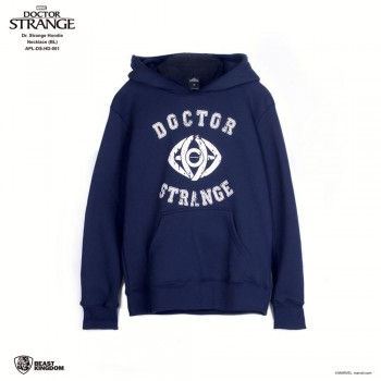 Marvel Dr. Strange: Dr. Strange Hoodie Necklace - Blue, Size XL (APL-DS-HD-001)