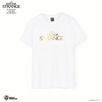 Marvel Dr. Strange: Dr. Strange Tee Logo - White, Size S (APL-DS-TEE-001)