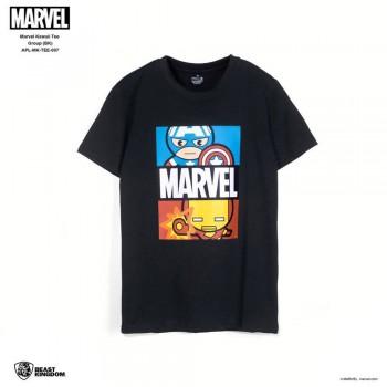 Marvel: Marvel Kawaii Tee Group - Black, Size XS (APL-MK-TEE-007)