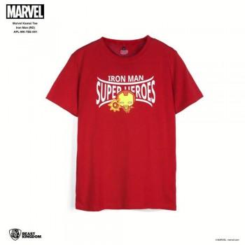 Marvel: Marvel Kawaii Tee Iron Man - Red, Size M (APL-MK-TEE-001)