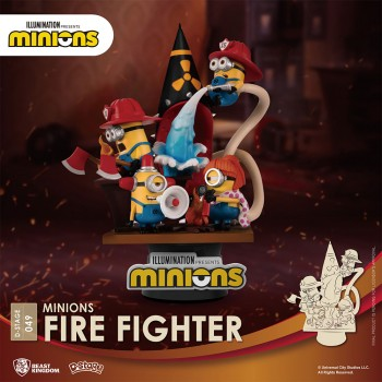 Despicable Me : Minions Series - Fire Fighter (DS-049)