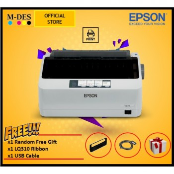 EPSON LQ-310 - A4 24-Pin USB Dot Matrix Printer