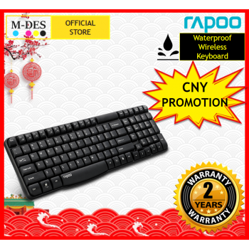 [Waterproof] RAPOO E1050 Wireless Keyboard