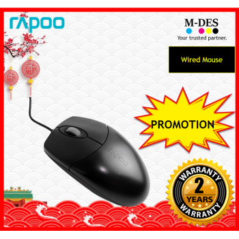 RAPOO N1020 Optical Mouse