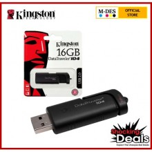 Kingston Data Traveler 104 16GB DT104 USB 2.0 Flash Drive Pendrive