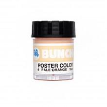 Buncho PC15CC Poster Color 04 Pale Orange - 6/Box