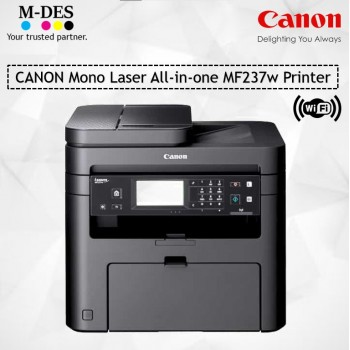 Canon Mono Laser All-in-One MF237w Printer