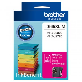 Brother LC-665XL Magenta Ink Cartridge