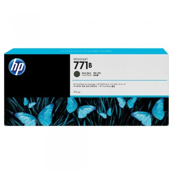 HP 771B 775-ml Matte Black Designjet Ink Cartridge (B6X99A)