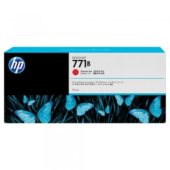 HP 771B 775-ml Chromatic Red Designjet Ink Cartridge (B6Y00A)