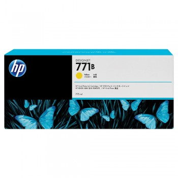 HP 771B 775-ml Yellow Designjet Ink Cartridge (B6Y02A)