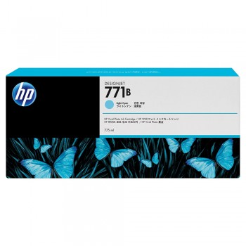HP 771B 775-ml Light Cyan Designjet Ink Cartridge (B6Y04A)