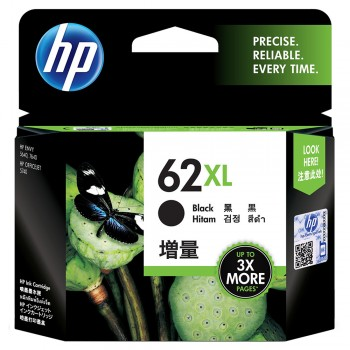 HP 62XL Black Ink Cartridge (C2P05AA)