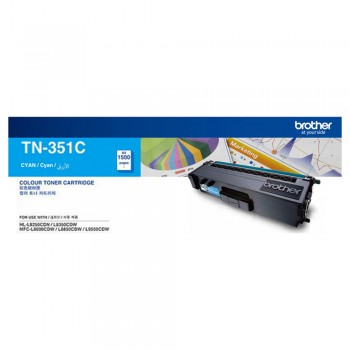 Brother TN-351 Cyan Toner