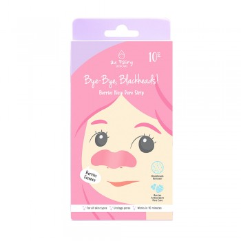 Aufairy Bye-Bye, Blackheads! Berry Nose Pore Strip - 10 pcs