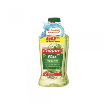 Colgate Plax Mouthwash Fresh Tea 2 x 750ml