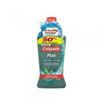 Colgate Plax Mouthwash Freshmint 2 x 750ml