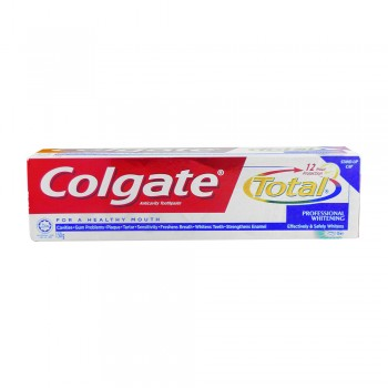 Colgate Total Professional Whitening Toothpaste Valuepack 150g