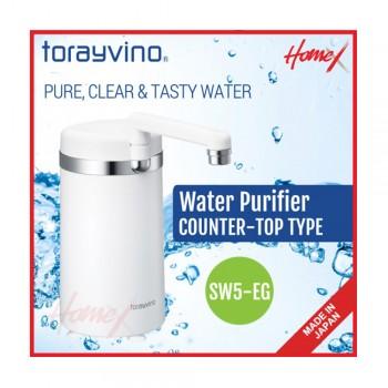 Torayvino Water Purifier counter Top Type